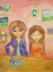 International contest of children's drawing «I am a citizen of the World!»